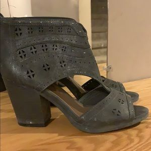 Maurices open toe booties
